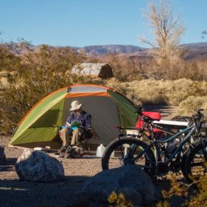 Camping ouest américain