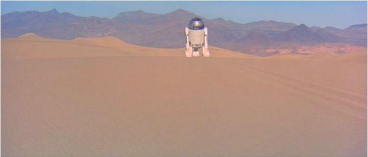 Mesquite Flat Sand Dunes et le cinéma