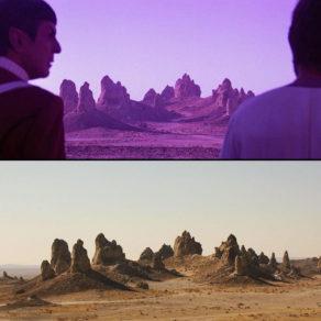 Trona Pinnacles et le cinéma