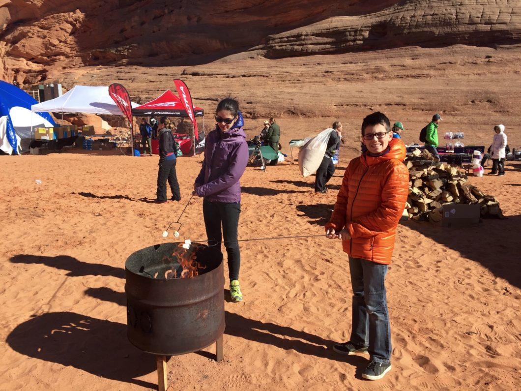 froid même dans le désert