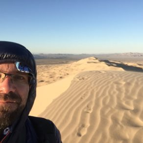 doudoune dans les dunes
