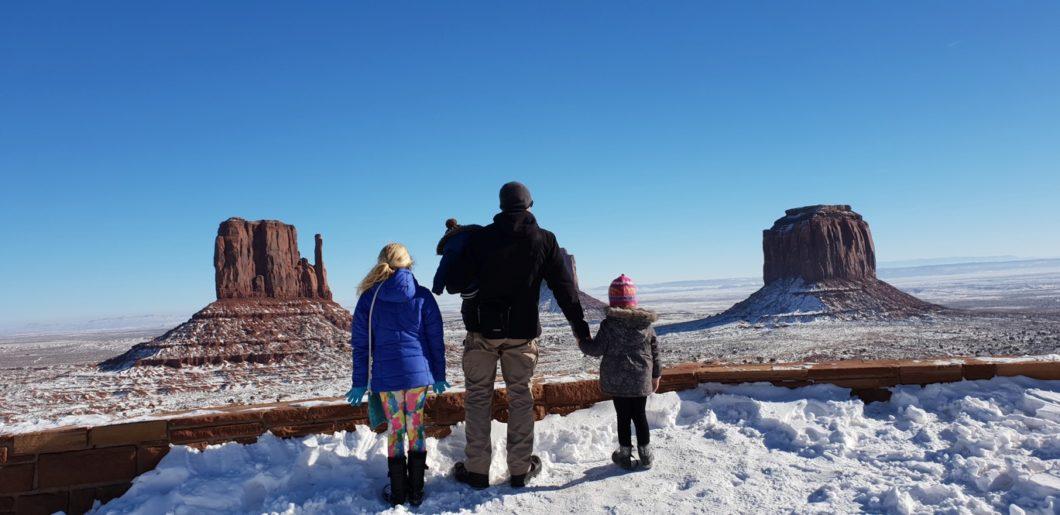 Monument Valley avec bébé