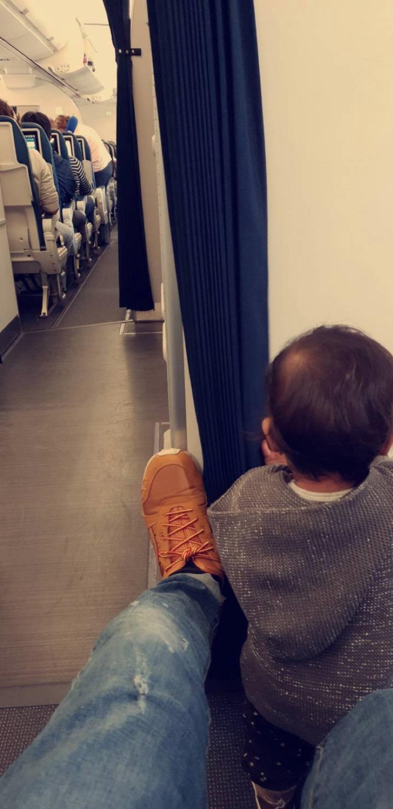 avion avec bébé