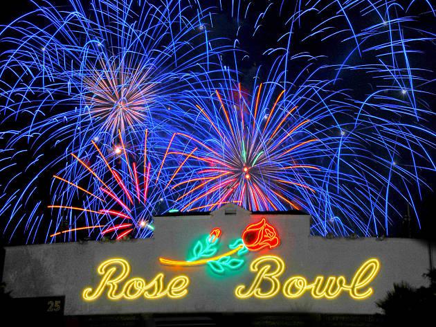 4 Juillet Rose Bowl
