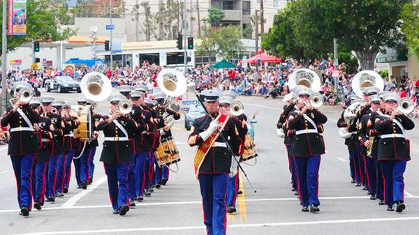 Parade de Pacific Palissades