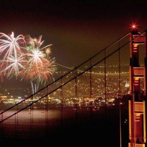 feu d'artifice San Francisco
