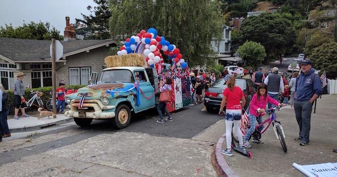 Sausalito parade