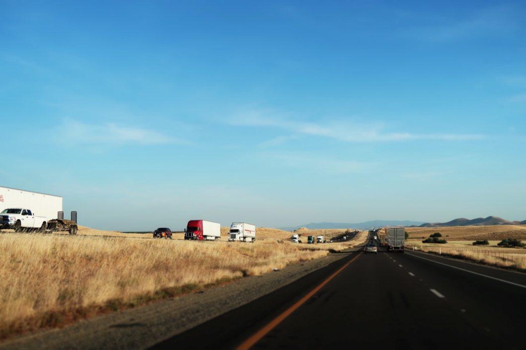 trajet San Francisco-Bakersfield