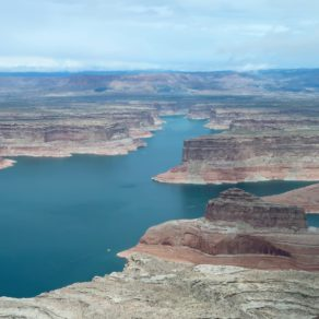 survol du Lake Powell