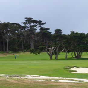 terrain de golf 17 Mile Drive