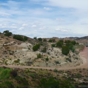Bentonite Hills