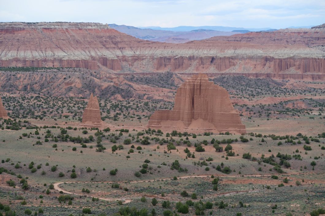 Upper Cathedral Valley Overlook