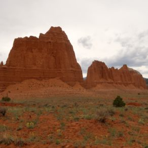 Upper Cathedral Valley
