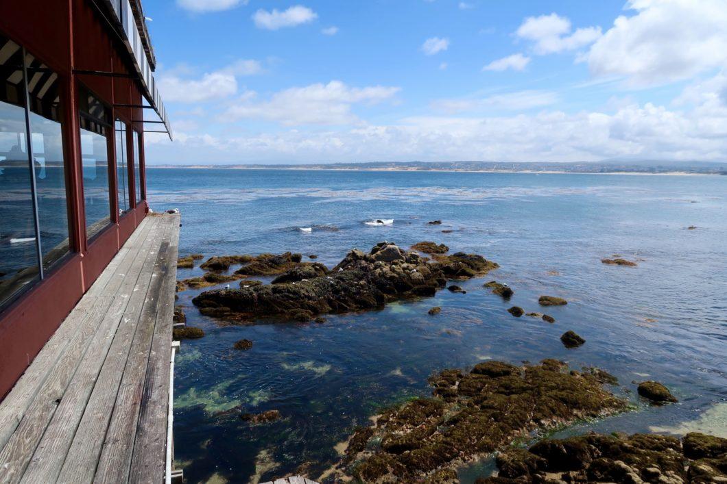 vue depuis la terrasse The Fish Hopper