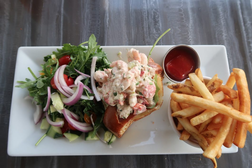 Lobster and Shrimp Roll