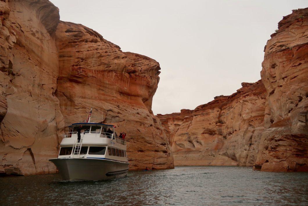 bateau de croisière Antelope Canyon