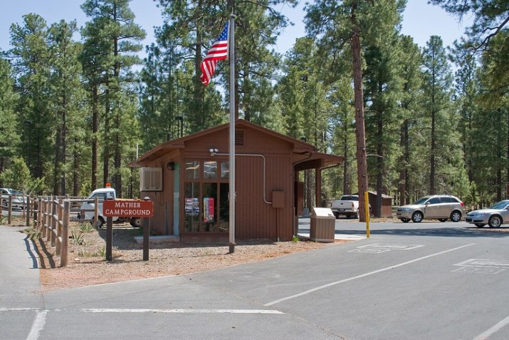 accueil Mather Campground