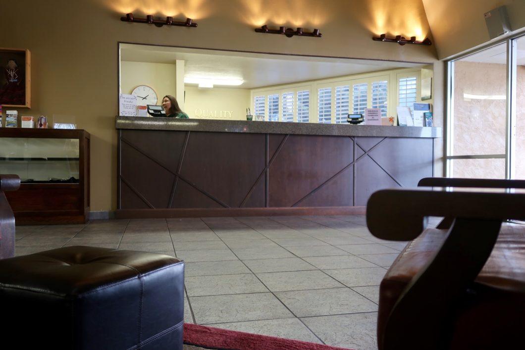 Lobby Quality Inn