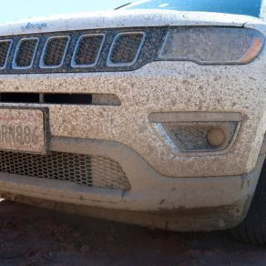 SUV boue