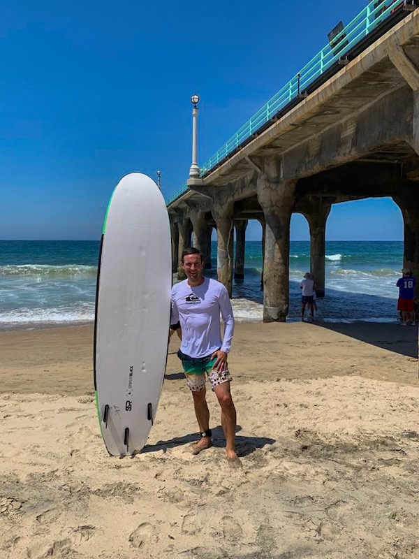 Manhattan Beach  surf location