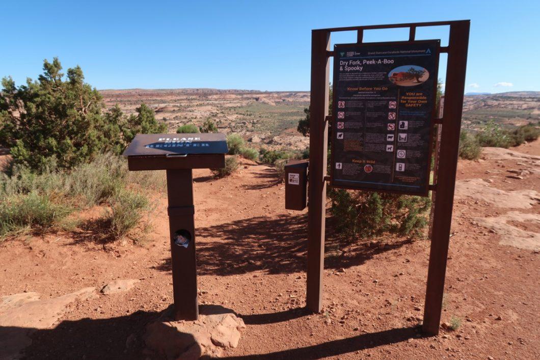 consignes de sécurité slot canyons