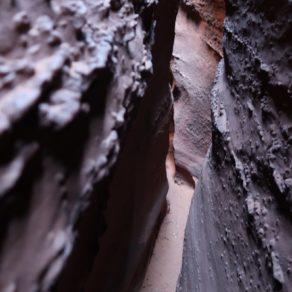 entrée spooky slot canyon