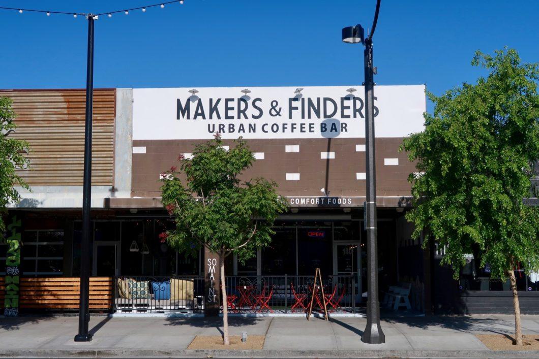 Makers & Finders devanture