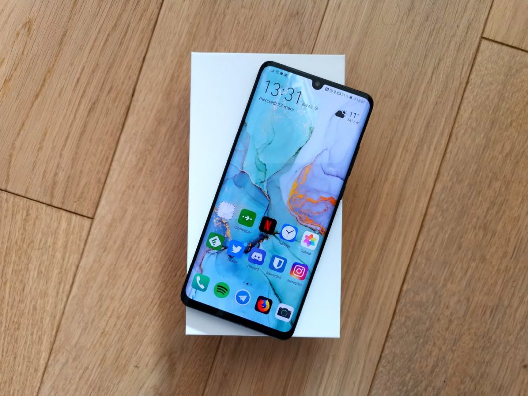 matériel photo Huawei P30 pro