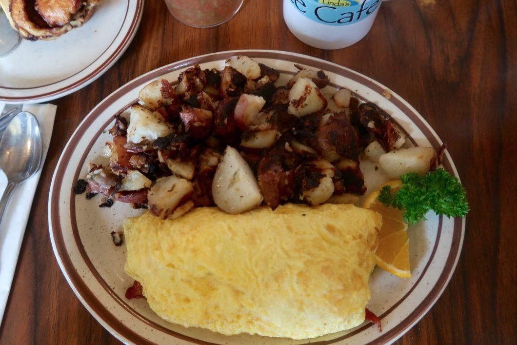 Omelette garnie