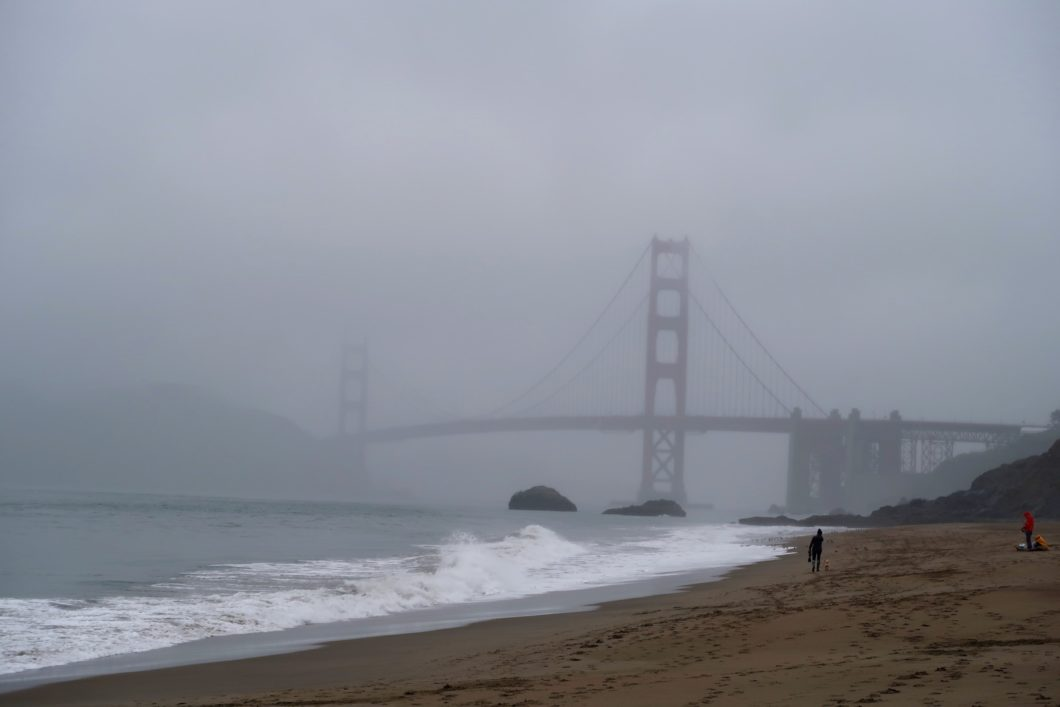 Golden Gate Bridge depuis Baker Beach
