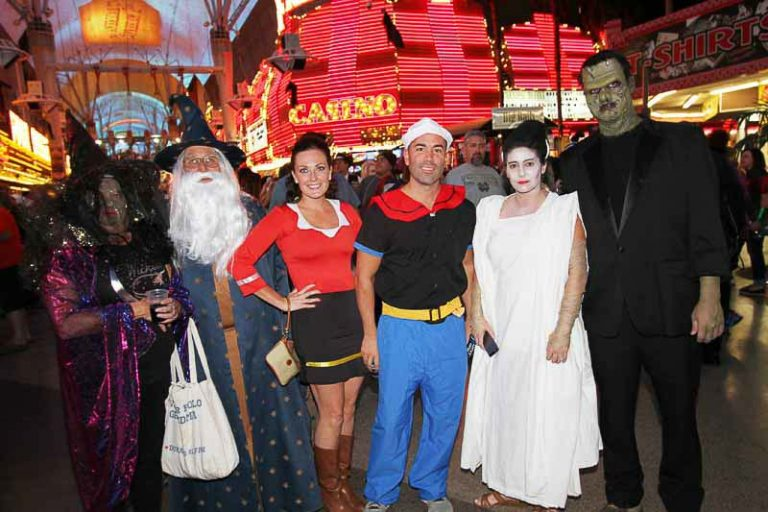 Halloween Fremont St