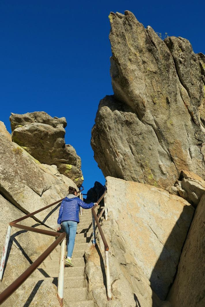 escaliers Moro Rock