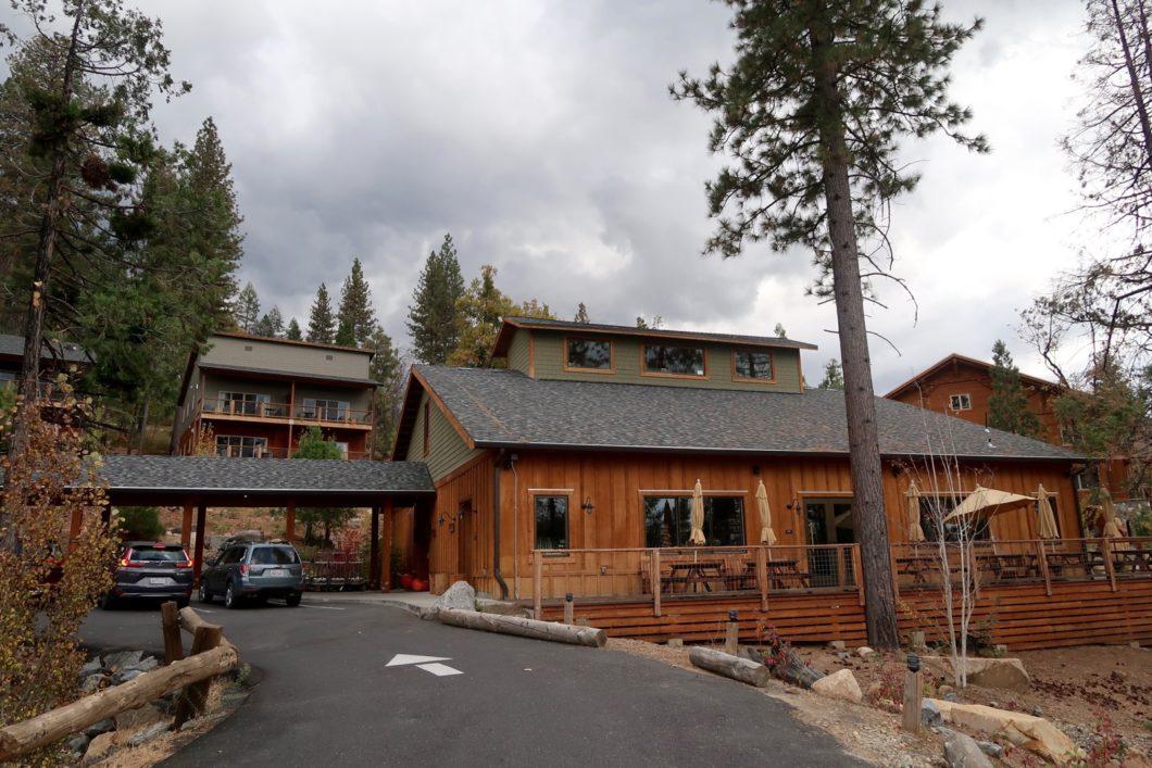 Lobby Rush Creek Lodge