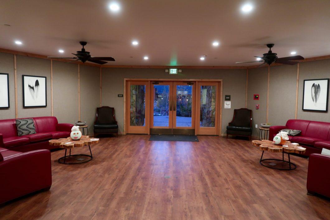 Bâtiment principal Rush Creek Lodge