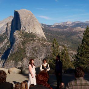 mariage à Glacier Point