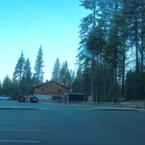 parking Mariposa Grove