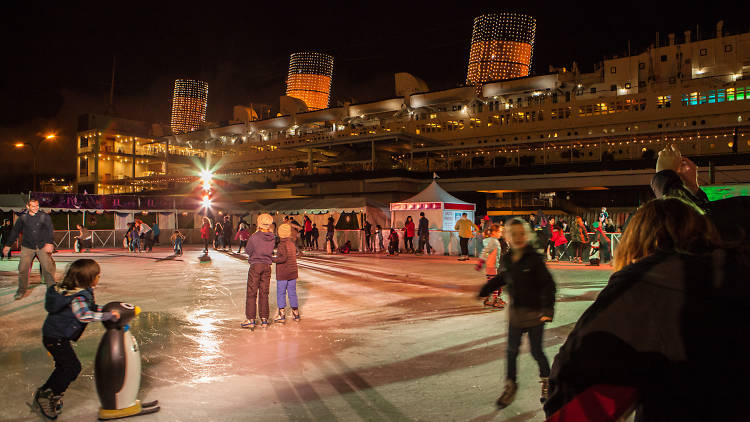 patinoire Queen Mary