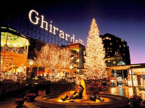 Sapin de Noël Ghirardelli Square