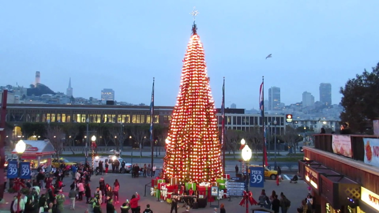 Sapin de Noël du Pier 39