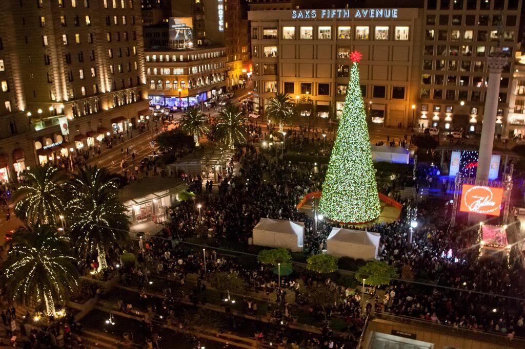 Sapin de Noël Union Square