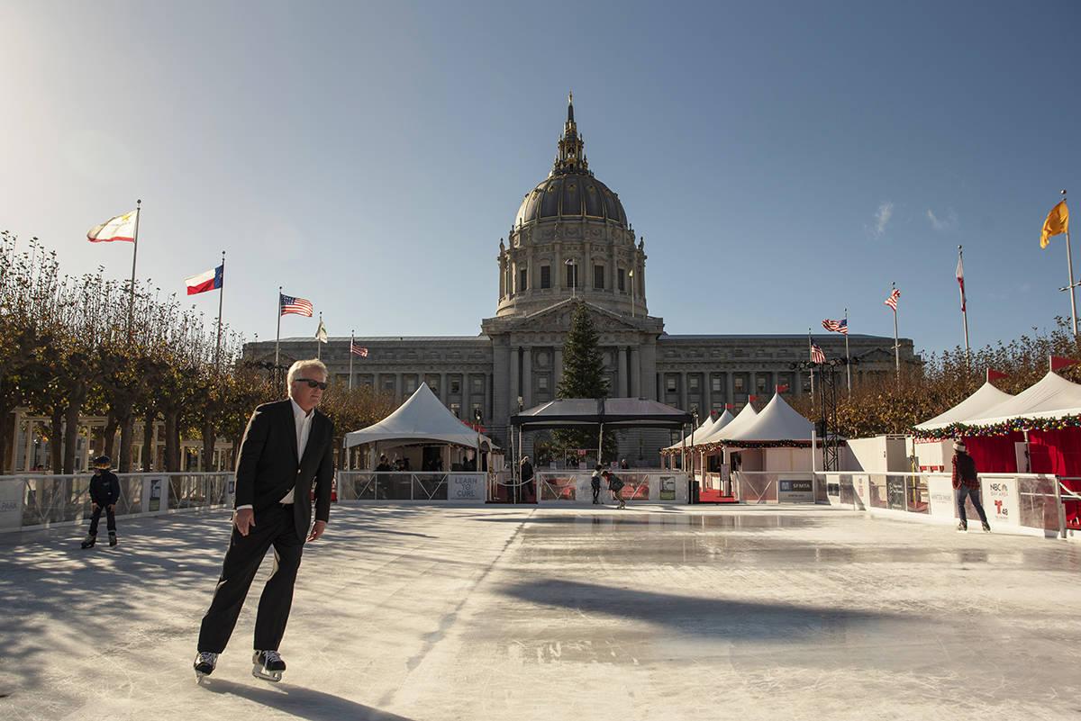 patinoire de Noël Civic Center