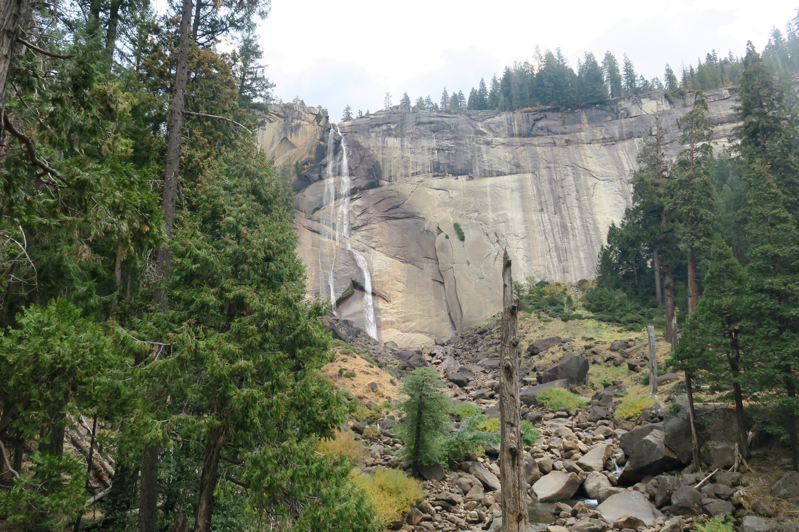 Nevada Fall Mist Trail