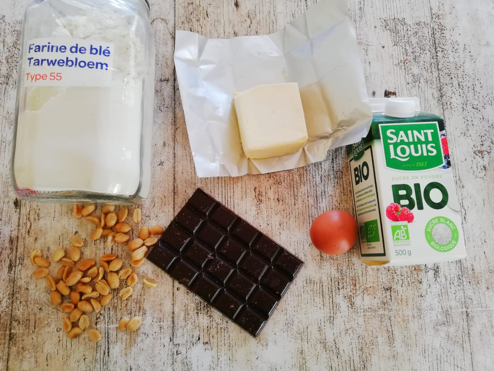 ingrédients Brownie
