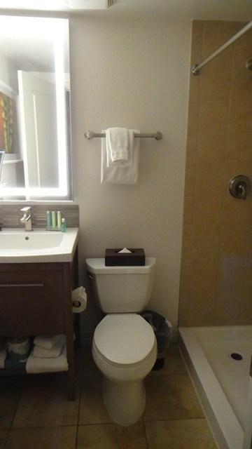 salle de bains Desert Rose Resort Las Vegas