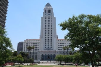 photo du City Hall de Los Angeles