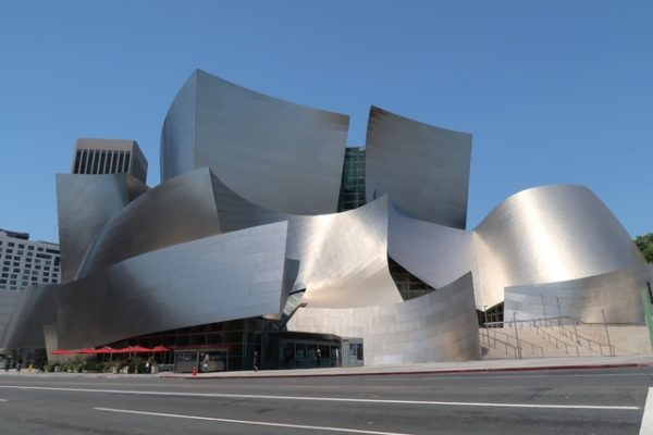 photo de l'extérieur du Walt Disney Concert Hall