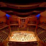 photo de l'intérieur du Walt Disney Concert Hall