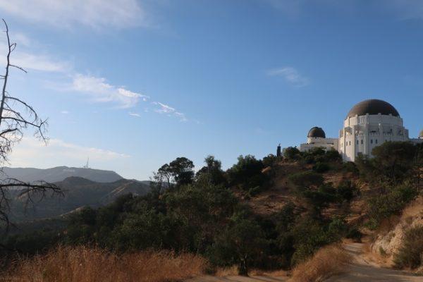vue depuis le Griffith Observatory