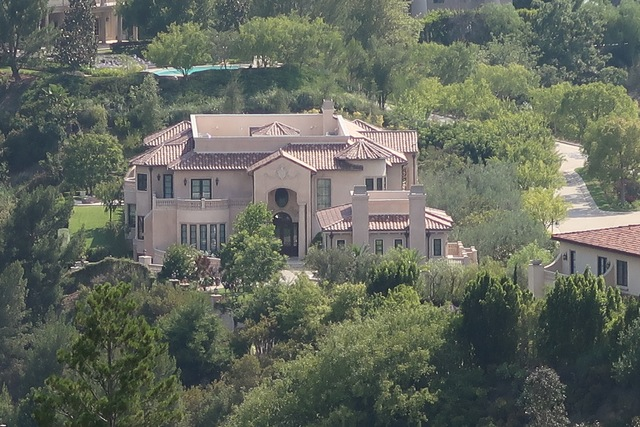 somptueuse villa à Mulholland Drive
