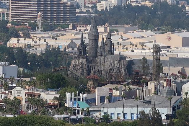 Universal studios depuis Mulholland Drive
